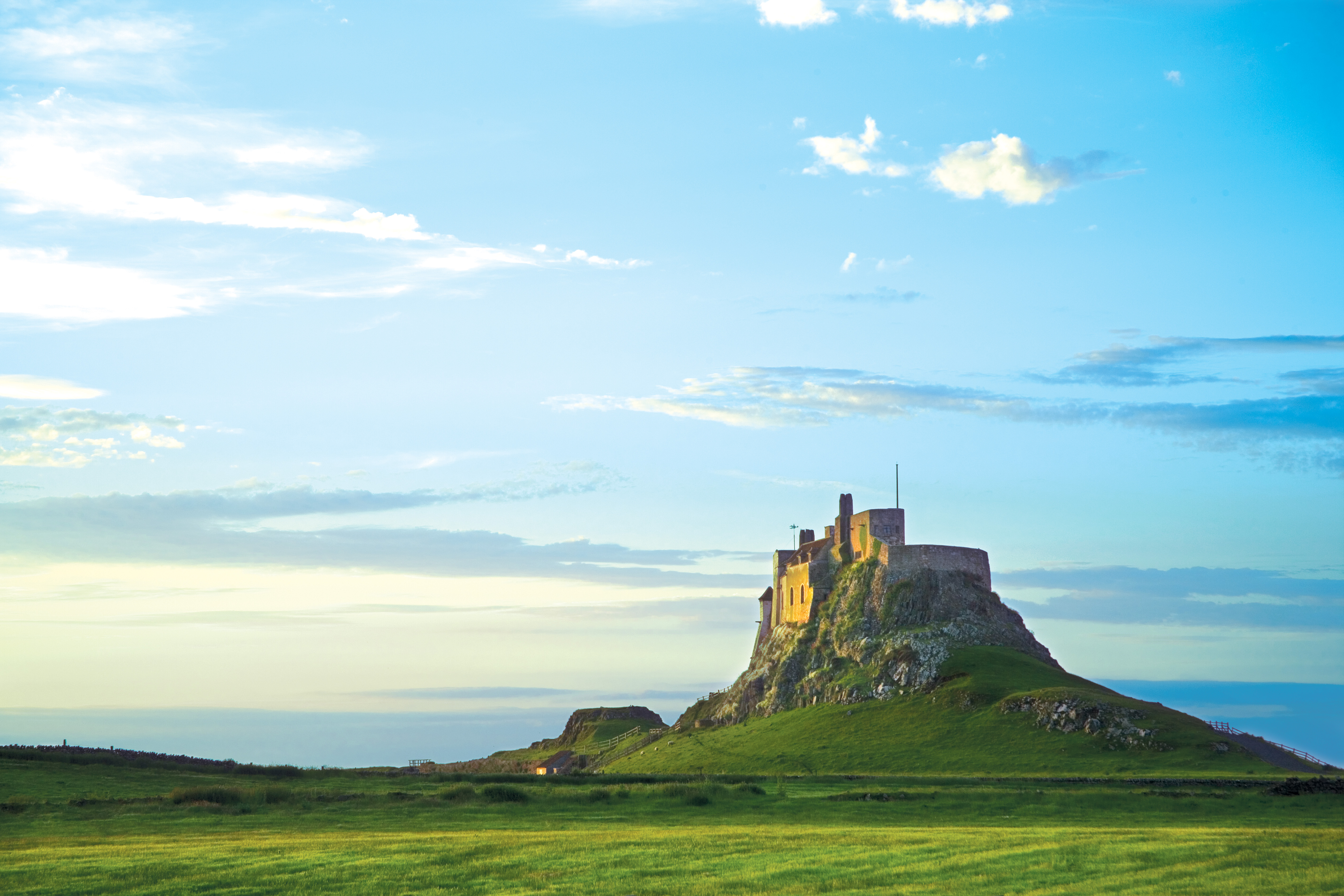 Bamburgh and Seahouses