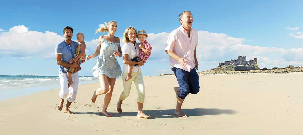 Great family holidays right here on your doorstep
