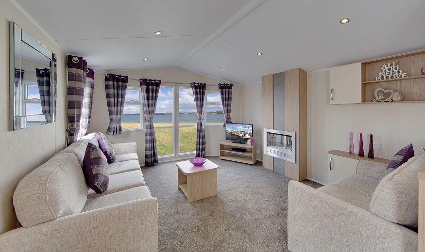 Willerby Brockenhurst: Static Caravans and Holiday Homes for Sale on Caravan Parks, Hartlepool, Durham and Weardale Large Image 1