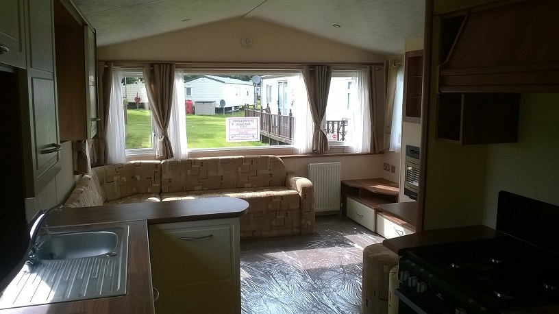 Willerby caravan for sale Rothbury Northumberland ideal caravans Clennell Hall Riverside Holiday Park Alwinton Large Image 1