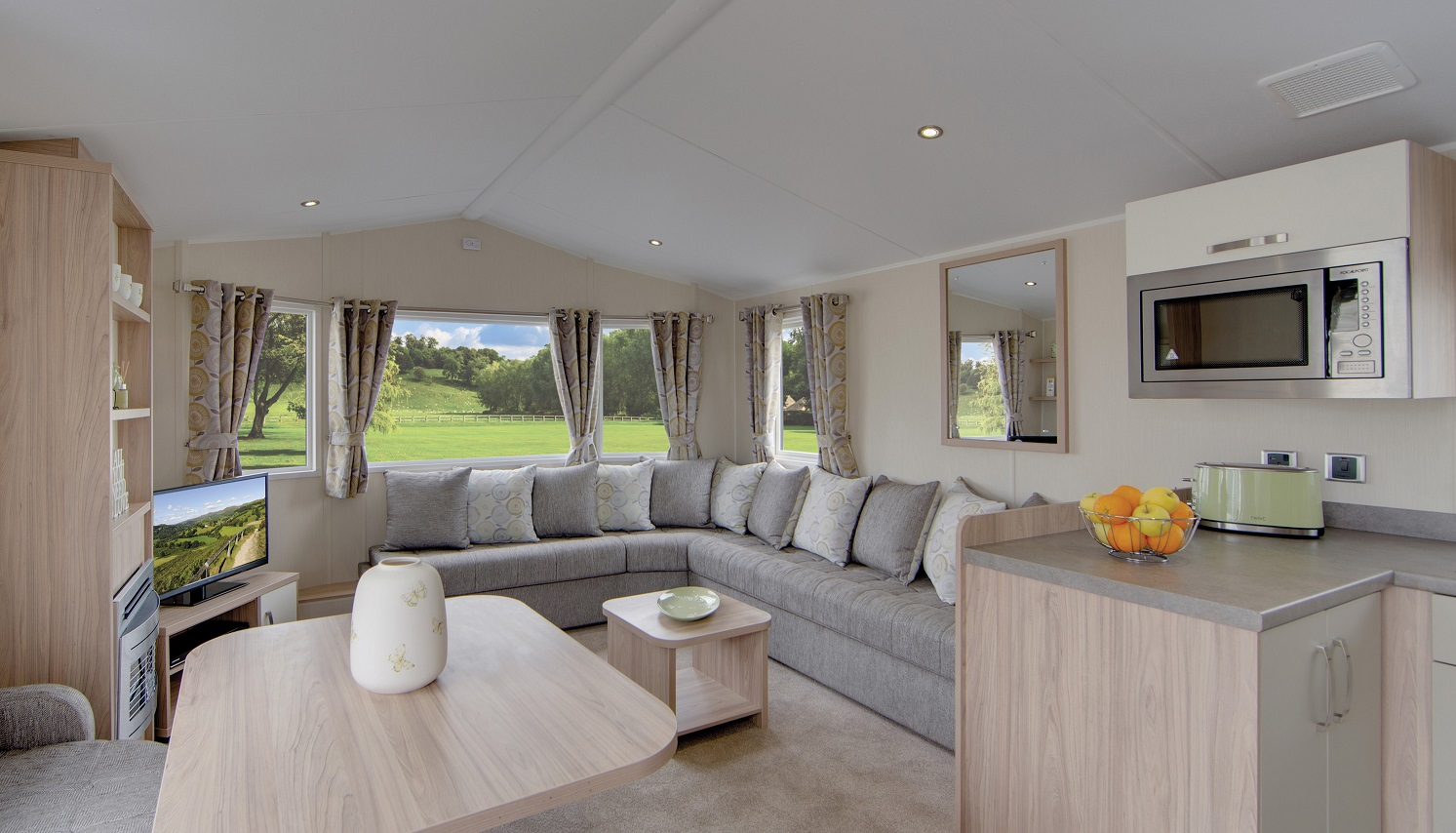 Willerby caravan for sale Seahouses Northumberland Large Image 1
