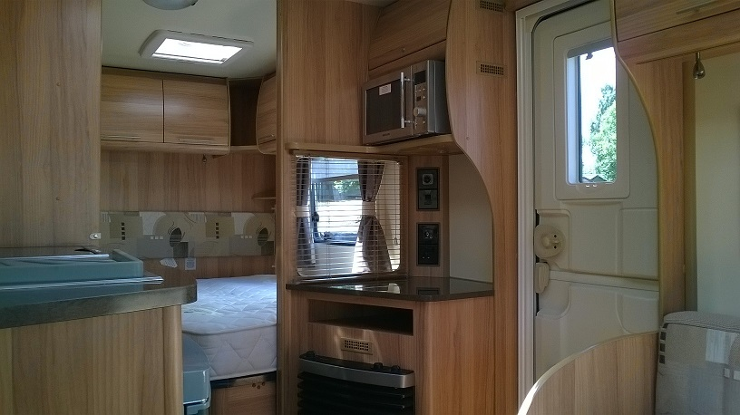 Bailey Olympus tourer caravan ideal caravans Clifton Morpeth Northumberland Large Image 3