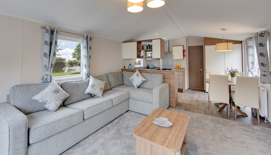 green Willerby Avonmore for sale ideal caravans 35 model Green ideal caravans Large Image 1