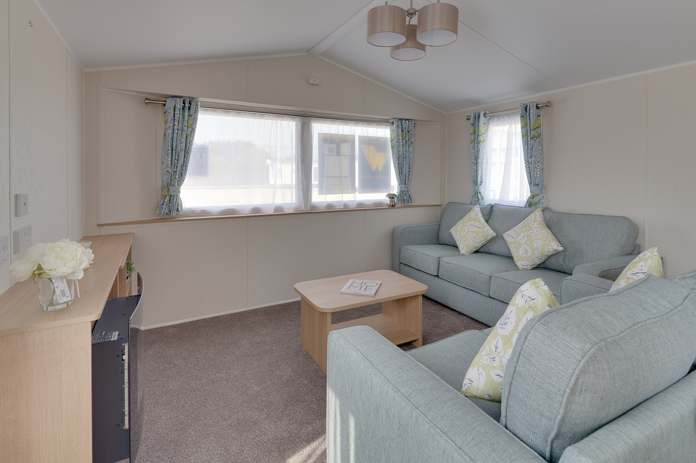 Willerby Ideal Mistral Plus+: Static Caravans and Holiday Homes for Sale on Caravan Parks, Bamburgh, Northumberland Large Image 1