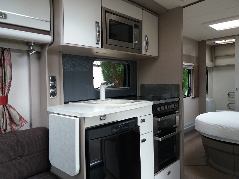 Sterling Eccles Quartz ideal caravans Clifton Morpeth Northumberland Large Image 2