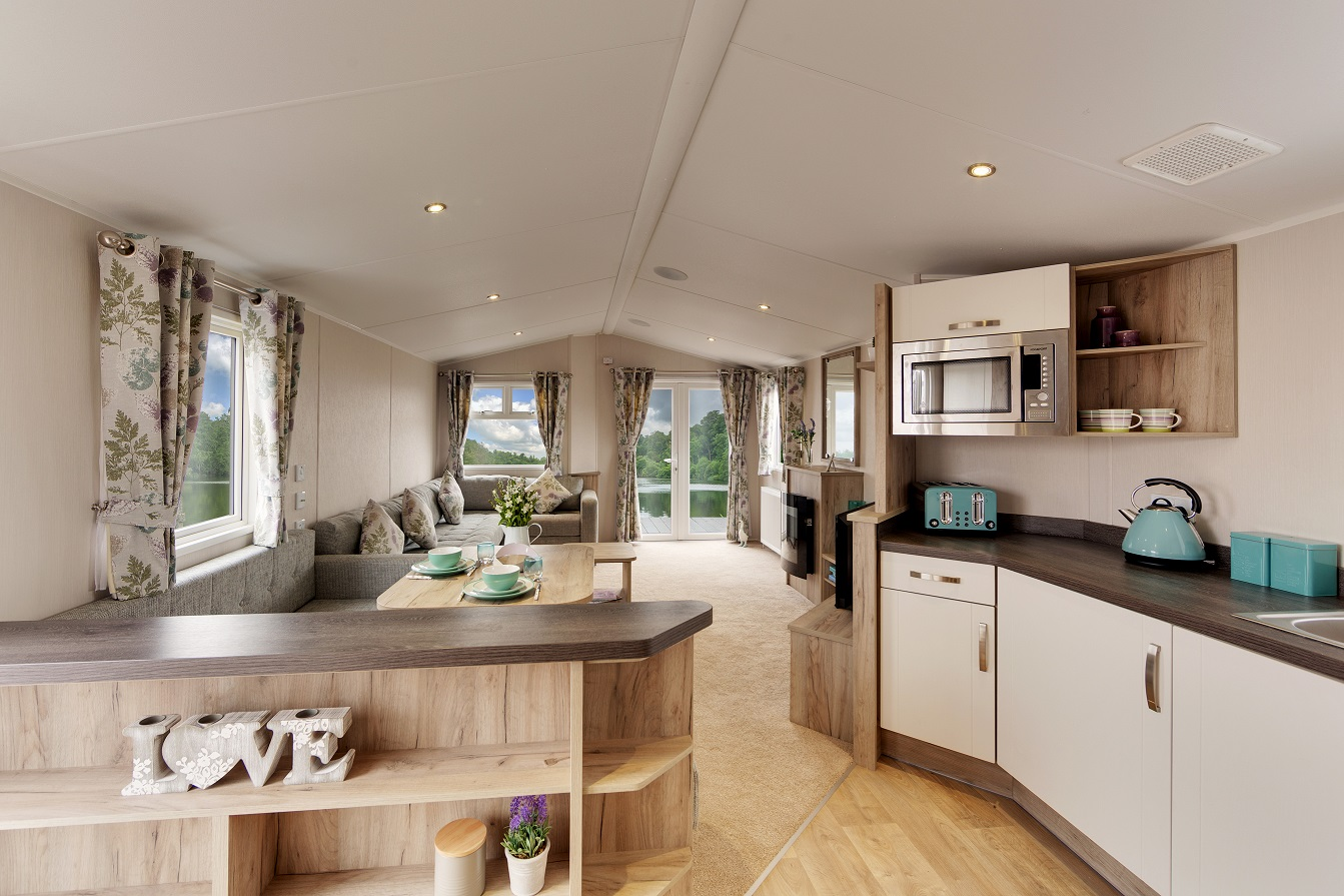 Willerby Skye: Static Caravans and Holiday Homes for Sale on Caravan Parks, South Shields, Durham and Weardale Large Image 1