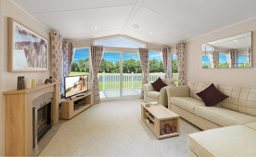 Willerby Aspen for sale ideal caravans Lodge specification Large Image 1