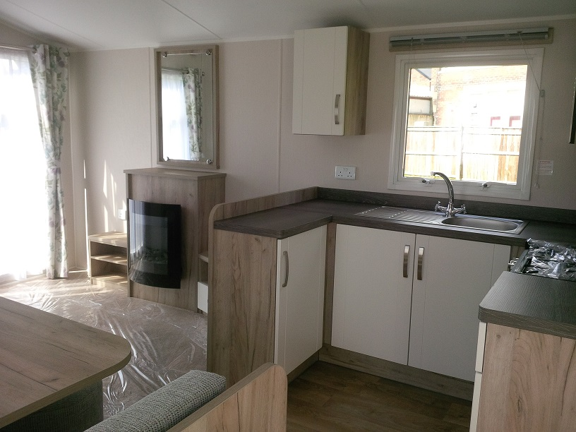 Willerby Skye: Static Caravans and Holiday Homes for Sale on Caravan Parks, Bamburgh, Northumberland Large Image 1