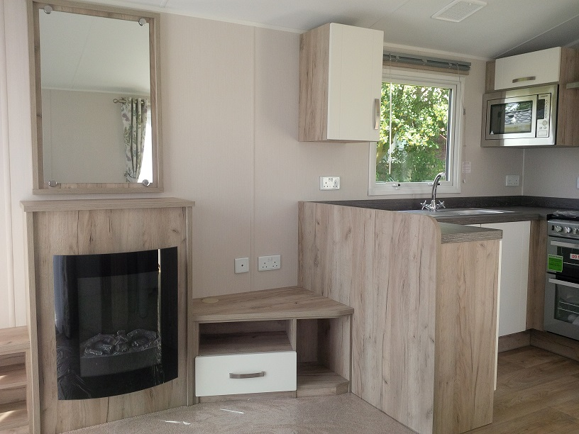 Willerby Skye: Static Caravans and Holiday Homes for Sale on Caravan Parks, Bamburgh, Northumberland Large Image 3