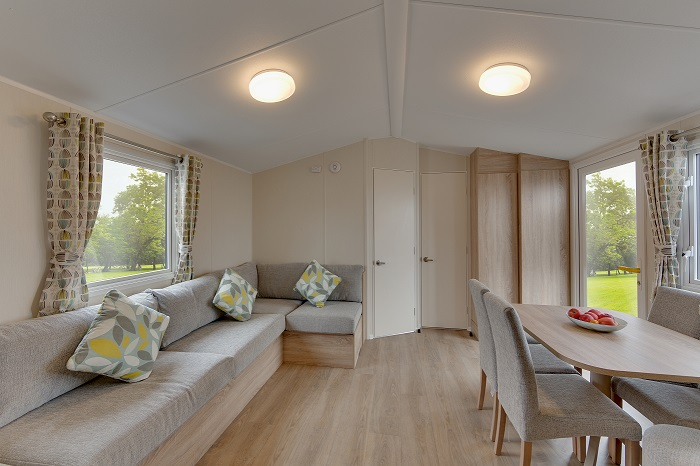 Willerby Lymington - 4 Bedrooms: Static Caravans and Holiday Homes for Sale on Caravan Parks, Bamburgh, Northumberland Large Image 1