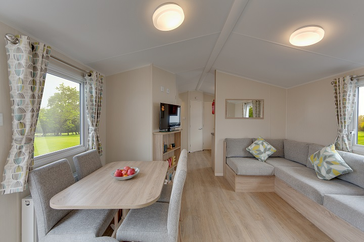 Willerby Lymington - 4 Bedrooms: Static Caravans and Holiday Homes for Sale on Caravan Parks, Bamburgh, Northumberland Large Image 2