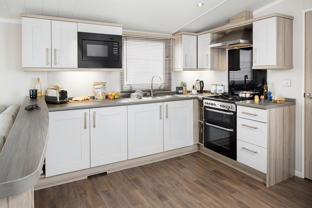 Swift Moselle: New Static Caravans and Holiday Homes for Sale, Langley Moor, Durham Large Image 2