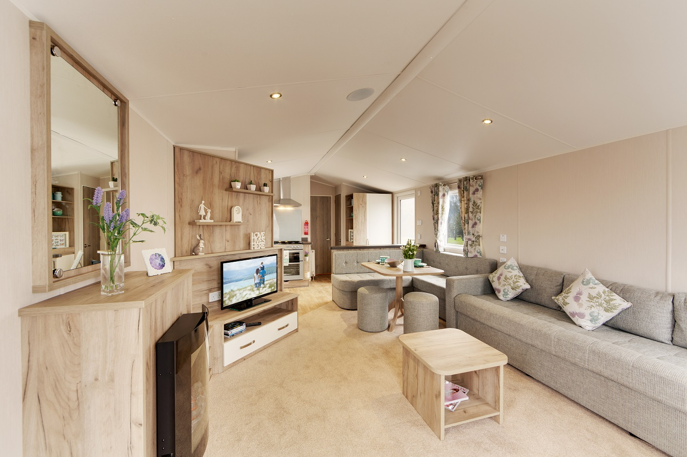 Willerby Skye - 3 Bedrooms: New Static Caravans and Holiday Homes for Sale, Langley Moor, Durham Large Image 1