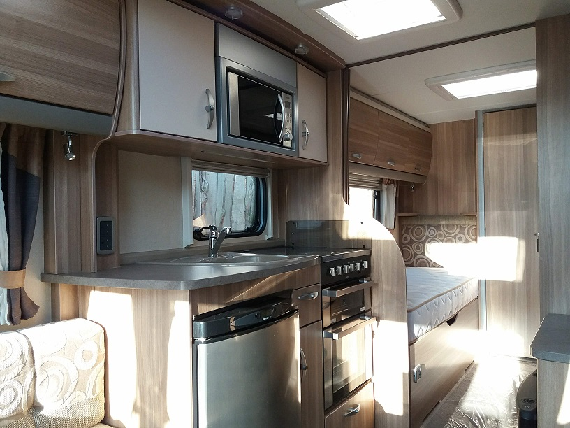 Sterling Eccles Solitaire: Used Touring Caravans for Sale, Clifton, Morpeth Large Image 2