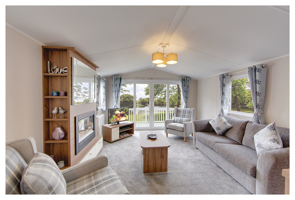 Willerby Avonmore Limited Edition: Static Caravans and Holiday Homes for Sale on Caravan Parks, Nidderdale, North Yorkshire Large Image 1
