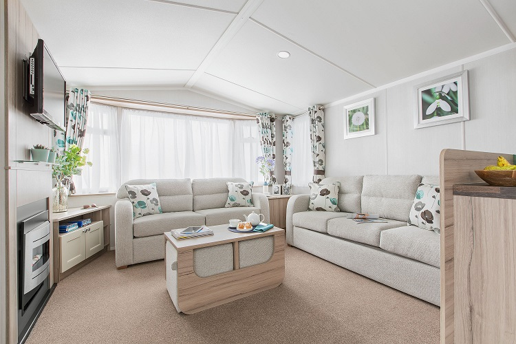 Swift Ideal Adventurer Plus+: Static Caravans and Holiday Homes for Sale on Caravan Parks, Bamburgh, Northumberland Large Image 1