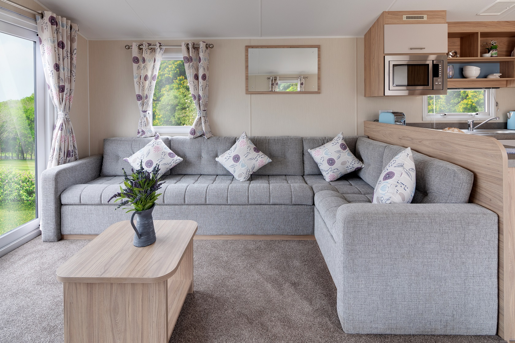 Willerby Linwood: New Static Caravans and Holiday Homes for Sale, Adderstone, Belford Large Image 1