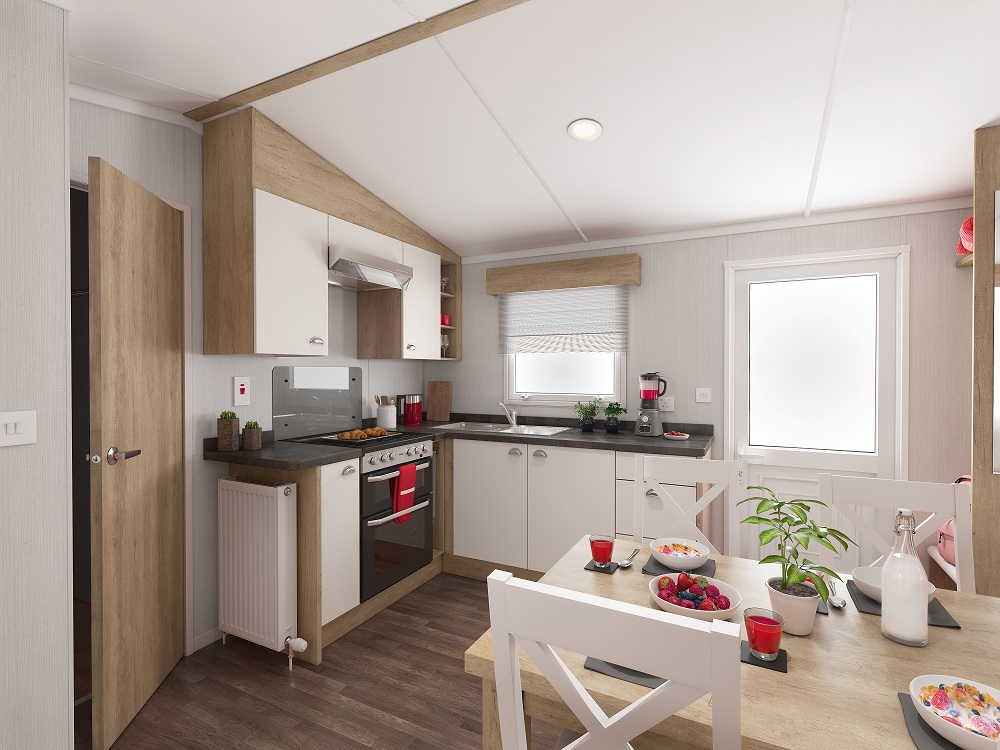 Swift Biarritz: Static Caravans and Holiday Homes for Sale on Caravan Parks, Borders, Scottish Borders Large Image 2