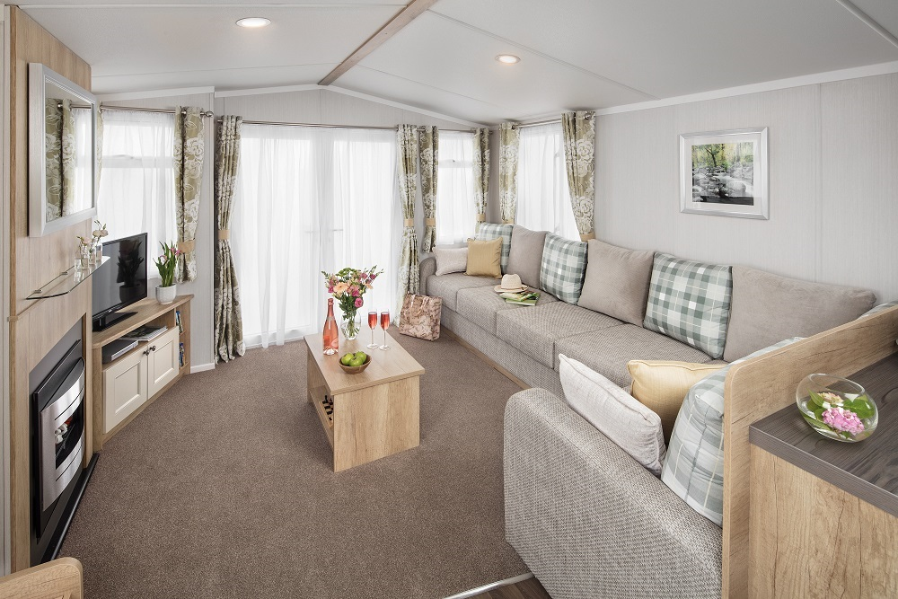 Swift Burgundy: New Static Caravans and Holiday Homes for Sale, Langley Moor, Durham Large Image 1