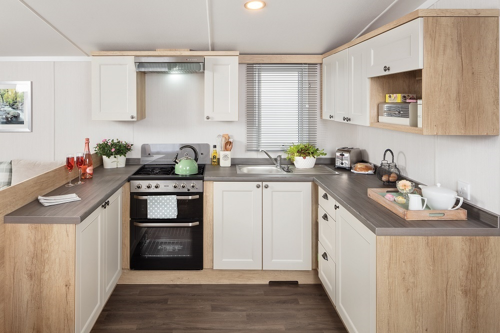 Swift Burgundy: New Static Caravans and Holiday Homes for Sale, Langley Moor, Durham Large Image 2