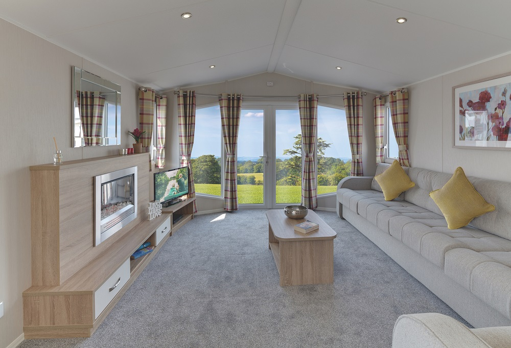 Willerby Sierra: Static Caravans and Holiday Homes for Sale on Caravan Parks, Hexham, Northumberland Large Image 1