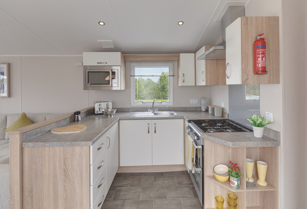 Willerby Sierra: Static Caravans and Holiday Homes for Sale on Caravan Parks, Hexham, Northumberland Large Image 3