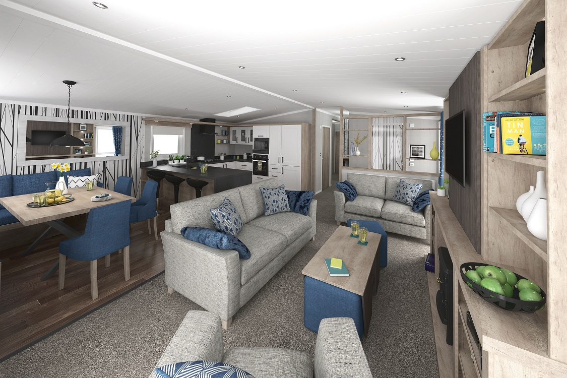 Swift Toronto Lodge - 3 Bedrooms: New Holiday Lodges for Sale, Available to Order Large Image 1