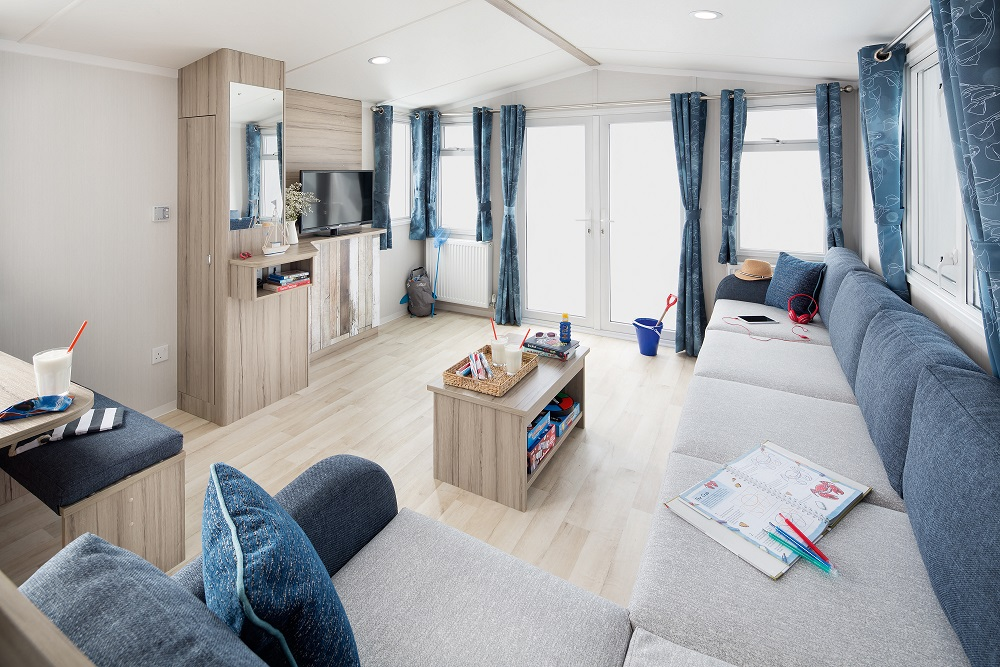 Swift Atlantique: Static Caravans and Holiday Homes for Sale on Caravan Parks, Bamburgh, Northumberland Large Image 1