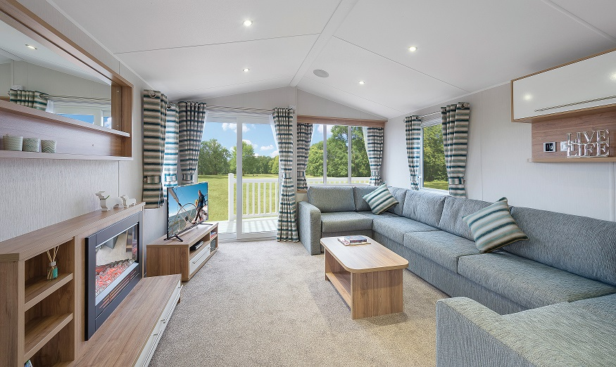 Willerby Granada: Static Caravans and Holiday Homes for Sale on Caravan Parks, Berwick, Scottish Borders Large Image 1