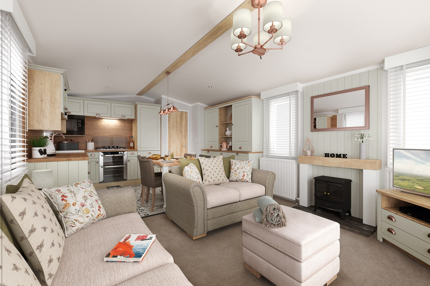 Swift Vendee: New Static Caravans and Holiday Homes for Sale, Clifton, Morpeth Large Image 2