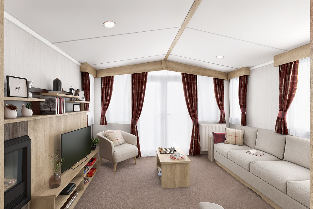 Swift Biarritz: New Static Caravans and Holiday Homes for Sale, Clifton, Morpeth Large Image 1