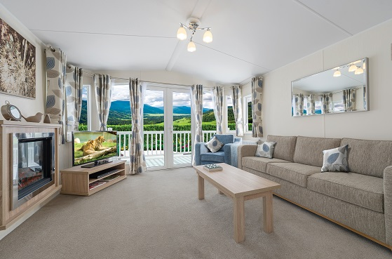 BK Bluebird Sheraton: Static Caravans and Holiday Homes for Sale on Caravan Parks, Ripon, North Yorkshire Large Image 1