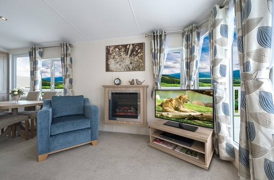 BK Bluebird Sheraton: Static Caravans and Holiday Homes for Sale on Caravan Parks, Ripon, North Yorkshire Large Image 2