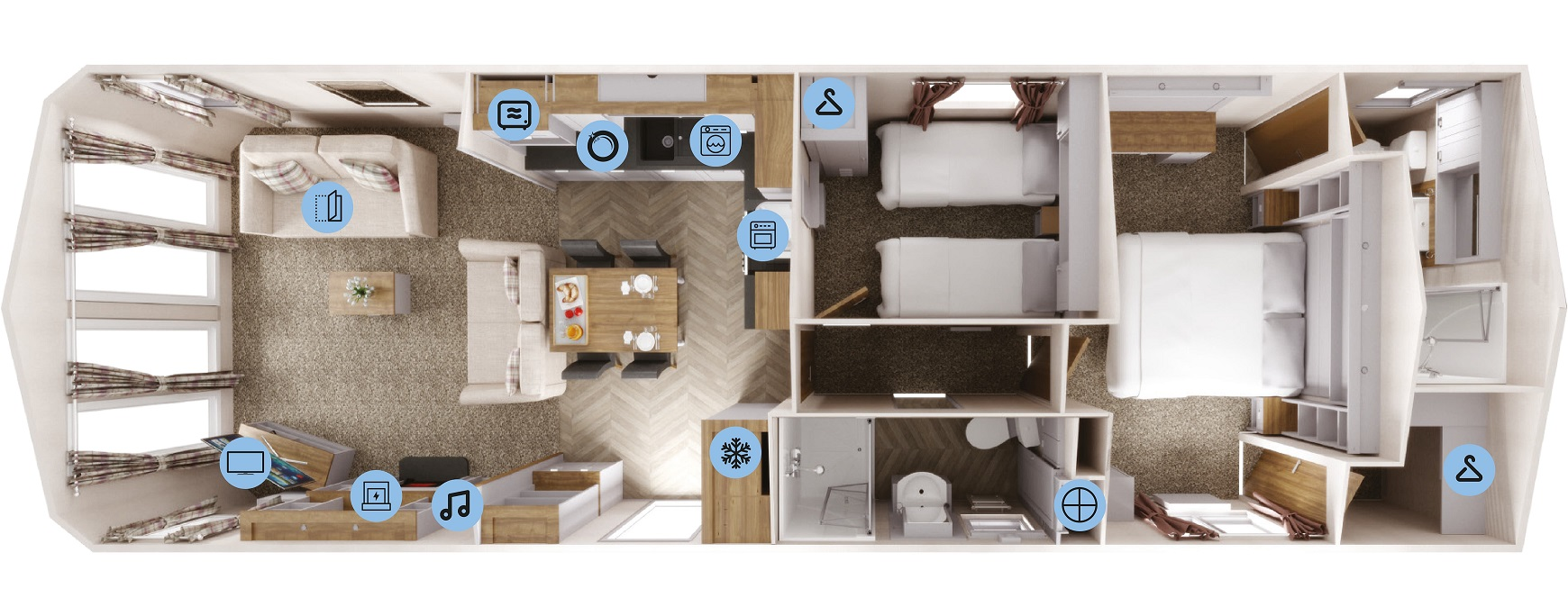 Willerby Sheraton: New Static Caravans and Holiday Homes for Sale, Available at Factory Large Image 4