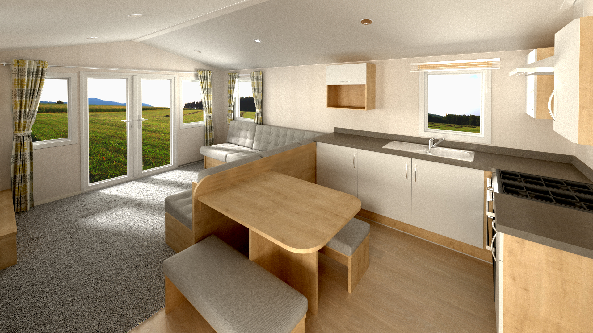 Willerby Grasmere - 3 Bedrooms: New Static Caravans and Holiday Homes for Sale, Clifton, Morpeth Large Image 1
