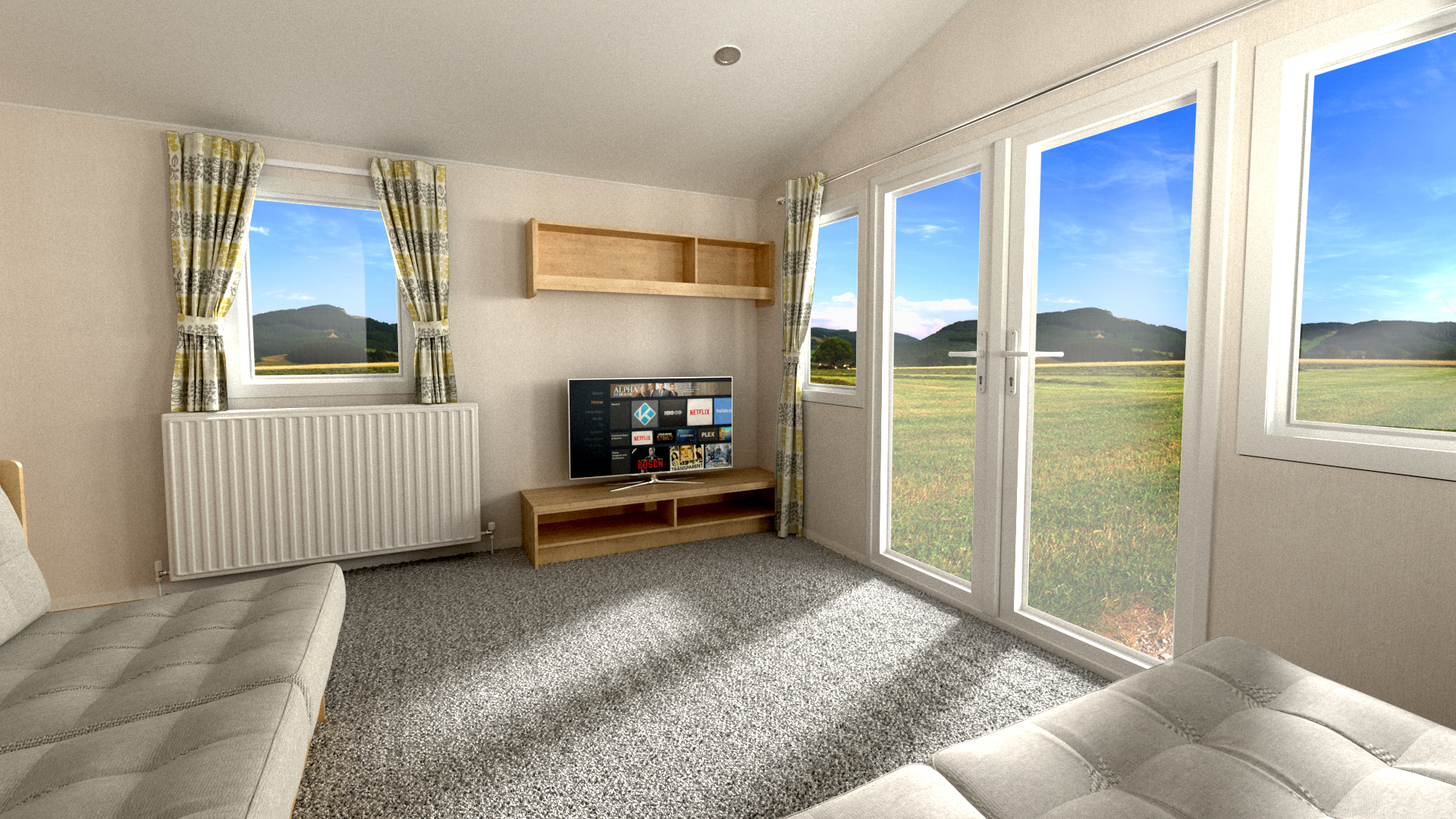 Willerby Grasmere - 3 Bedrooms: New Static Caravans and Holiday Homes for Sale, Clifton, Morpeth Large Image 2