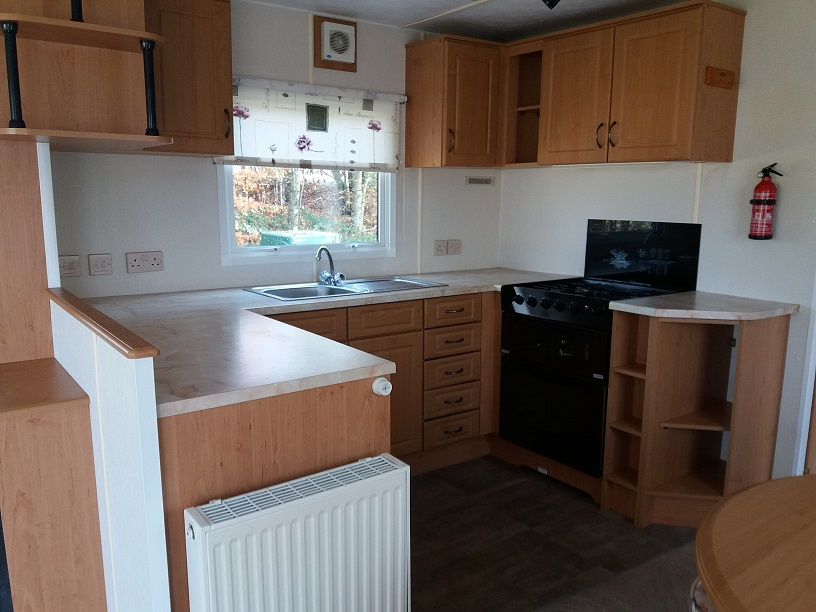 Cosalt Riviera Super 360/2: Static Caravans and Holiday Homes for Sale on Caravan Parks, Adderstone, Northumberland Large Image 2