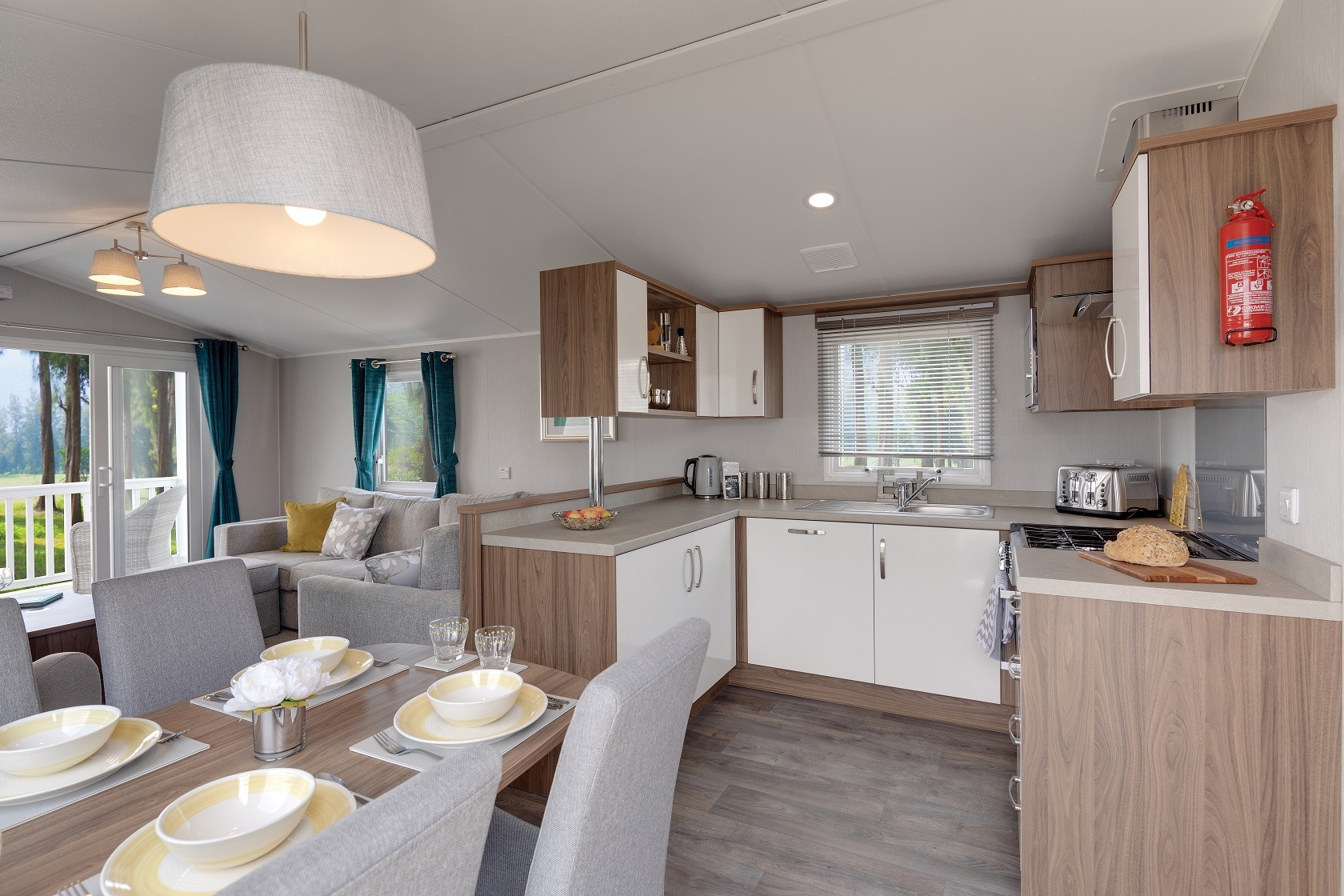 Willerby Avonmore: Static Caravans and Holiday Homes for Sale on Caravan Parks, Frosterley, Durham and Weardale Large Image 1