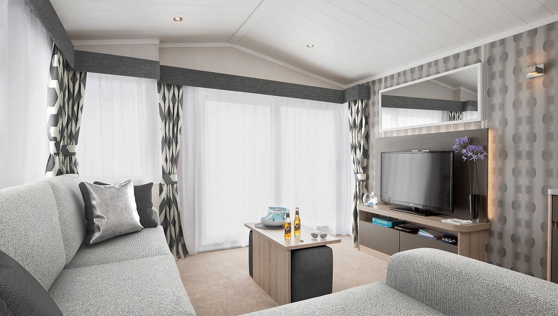 Swift Antibes: New Static Caravans and Holiday Homes for Sale, Langley Moor, Durham Large Image 1