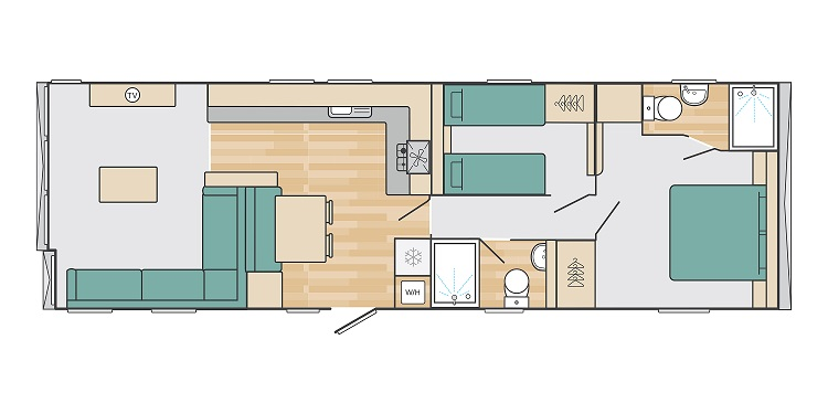 Swift Antibes: New Static Caravans and Holiday Homes for Sale, Langley Moor, Durham Large Image 5