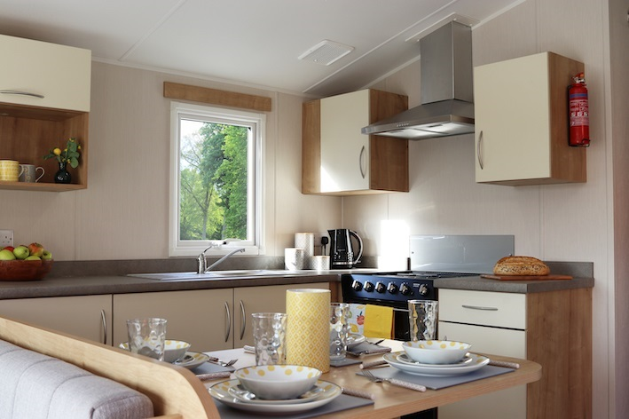 Willerby Grasmere: Static Caravans and Holiday Homes for Sale on Caravan Parks, Bamburgh, Northumberland Large Image 3
