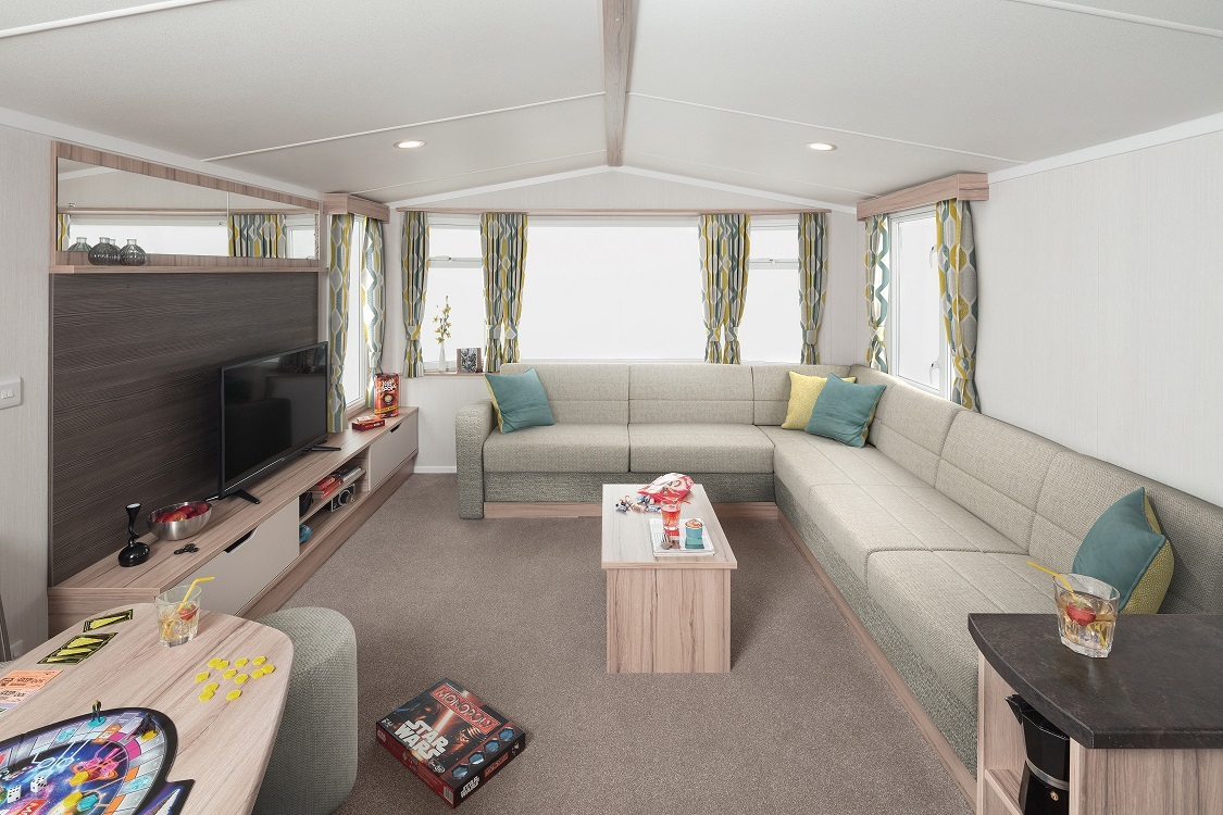 Swift Ideal Adventurer Plus+: Static Caravans and Holiday Homes for Sale on Caravan Parks, Hexham, Northumberland Large Image 1