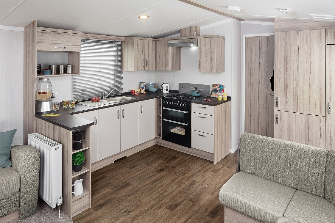 Swift Ideal Adventurer Plus+: Static Caravans and Holiday Homes for Sale on Caravan Parks, Hexham, Northumberland Large Image 2