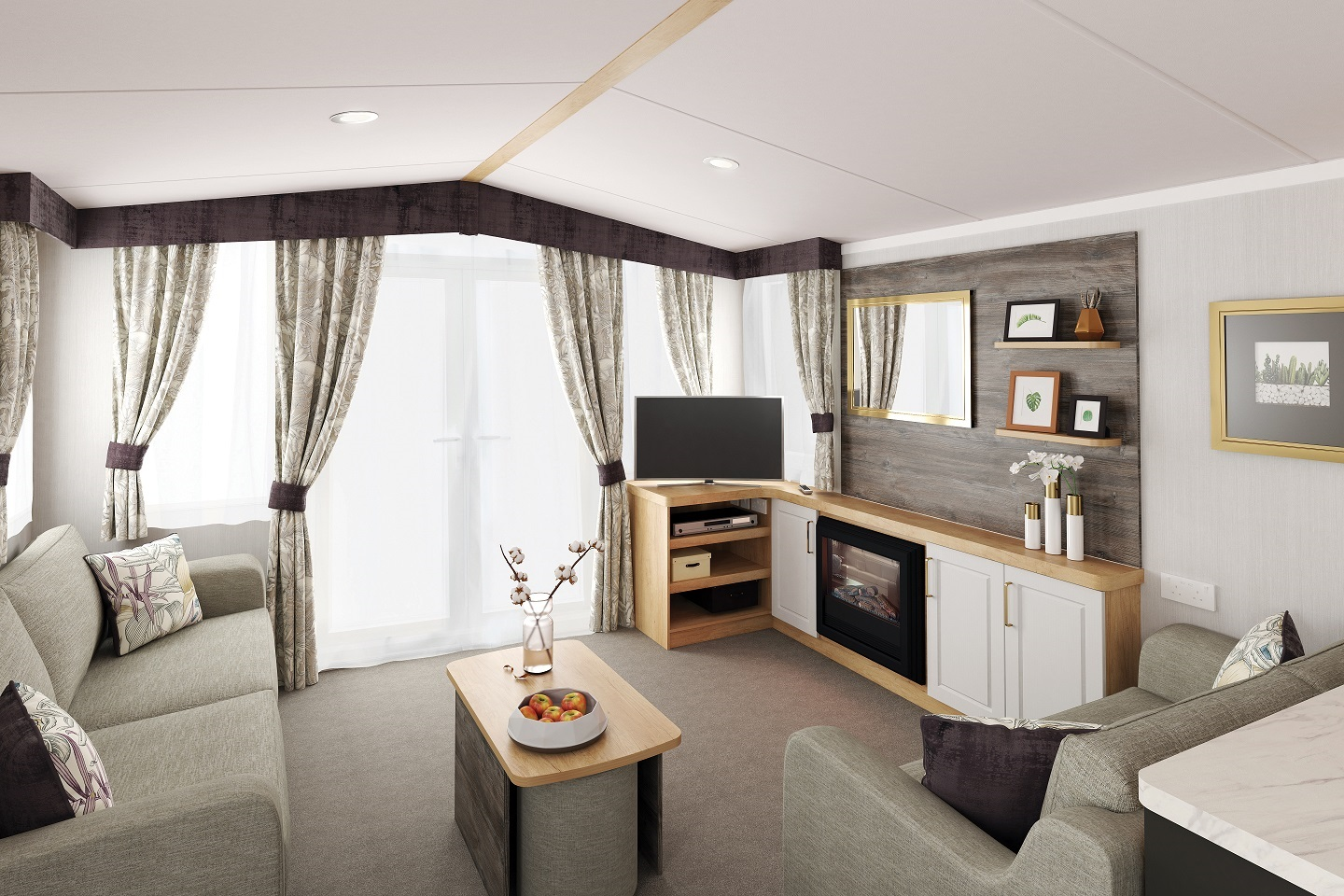 Swift Bordeaux: New Static Caravans and Holiday Homes for Sale, Langley Moor, Durham Large Image 1