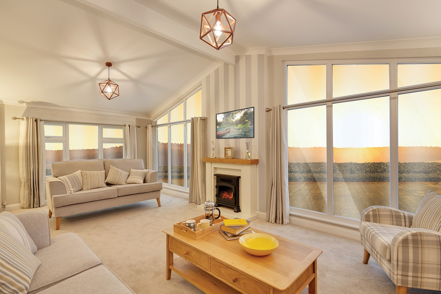 Willerby Delamere: New Holiday Lodges and Park Homes for Sale, Durham, Durham and Weardale Large Image 2