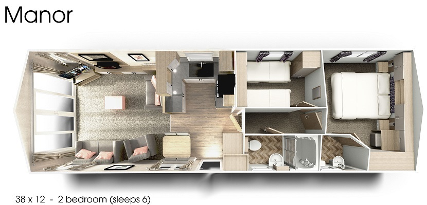 Willerby Manor: New Static Caravans and Holiday Homes for Sale, Available to Order Large Image 4