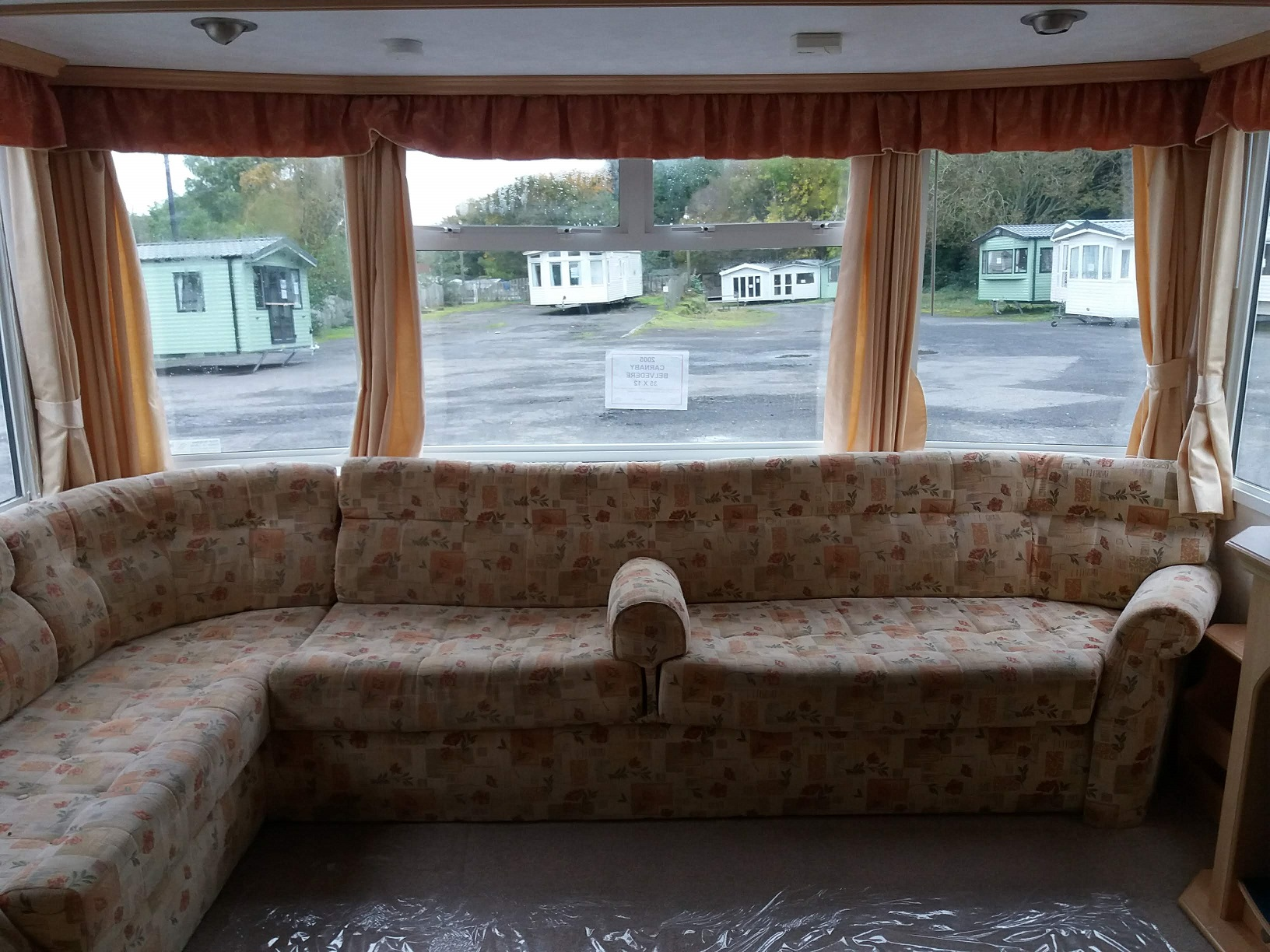 Carnaby Belvedere - 3 Bedrooms: Static Caravans for Temporary Accommodation, Clifton, Morpeth Large Image 1
