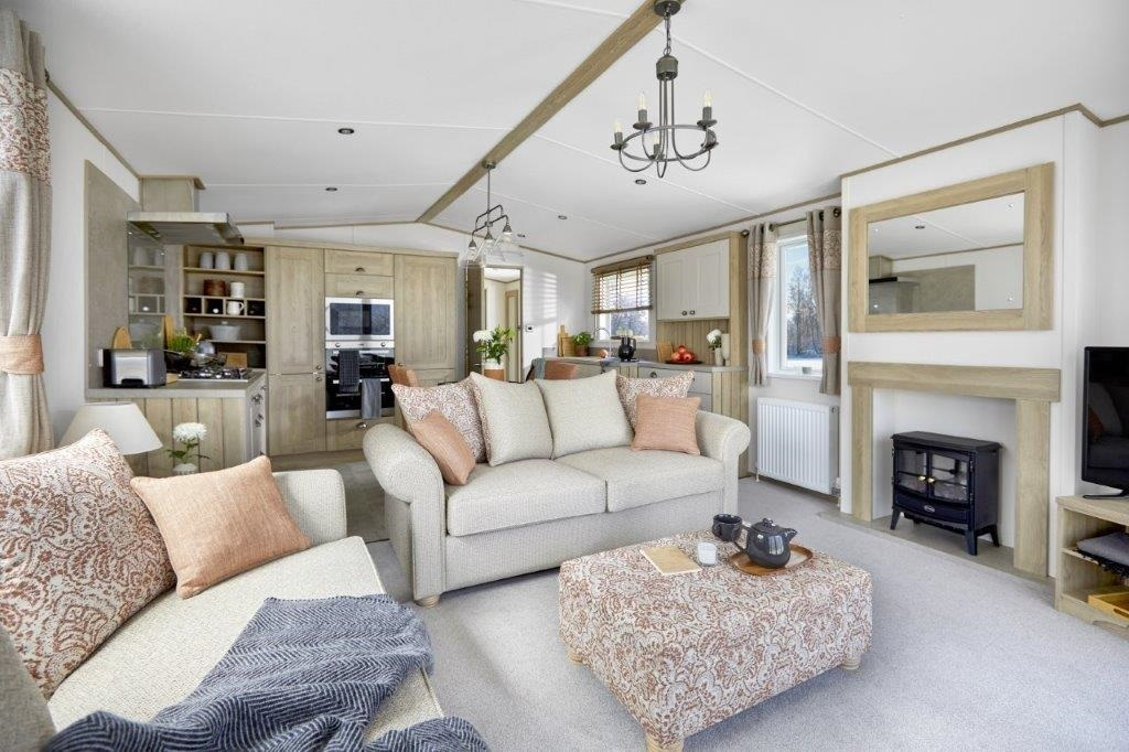 ABI Ambleside Premier Residential: New Static Caravans and Holiday Homes for Sale, Adderstone, Belford Large Image 2
