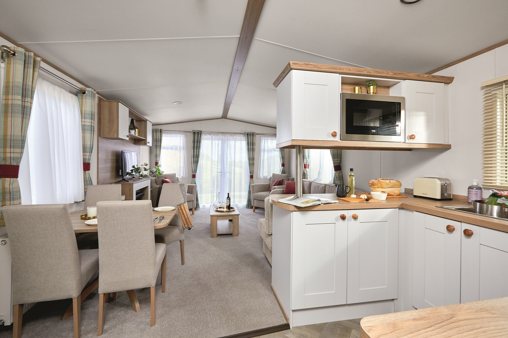 ABI Wimbledon: Static Caravans and Holiday Homes for Sale on Caravan Parks, Frosterley, Durham and Weardale Large Image 1