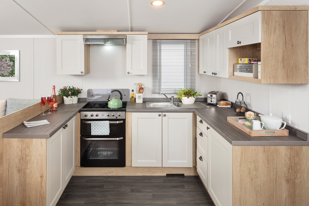 Swift Burgundy: New Static Caravans and Holiday Homes for Sale, On Order Large Image 2
